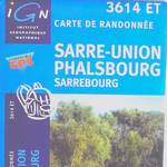 Carte Club Vosgien Sarre-Union