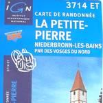 Carte Club Vosgien La Petite Pierre