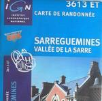 Carte Club Vosgien Sarreguemines