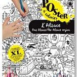 Poster à colorier sur l'Alsace