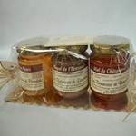 Lot 3 pots de miel