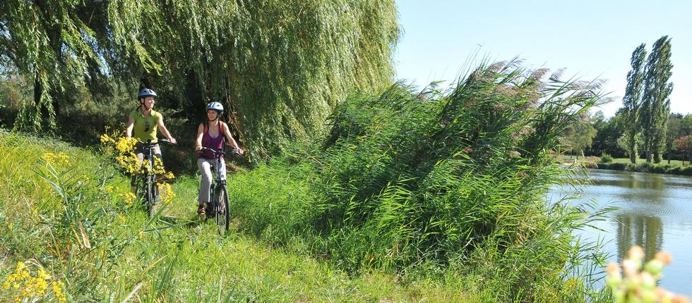 Vélo en Alsace Bossue