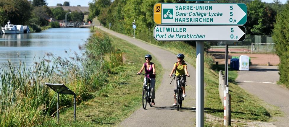 L'Alsace Bossue à vélo !
