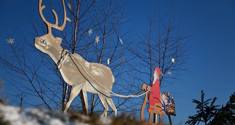 Décorations de Noël à Adamswiller