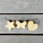 décorations en bois