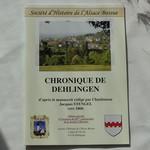 Cahier chronique de Dehlingen